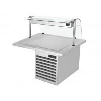 Встроенная холодильная плита - 1,1 м