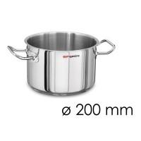 Кастрюля для мяса - Ø 200 мм - высота 130 мм