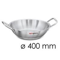 Сковорода с 2 ручками - Ø 400 мм - высота 80 мм BPGK400