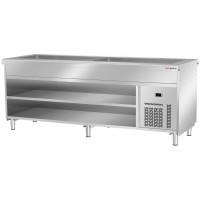 Охлаждающая ванна стационарная 6 x GN 1/1 - глубина 200 мм BVI800-KW6