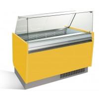 Витрина для мороженого - 1,25 x 0,92 м