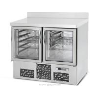 Холодильный стол для напитков - 1,0 x 0,7 м