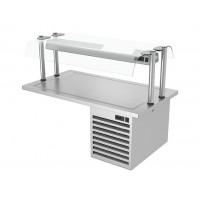 Встроенная холодильная плита - 1,5 м
