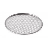 Диск для пиццы алюминиевый перфорированный - Ø 28 см