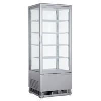 Витрина панорамная холодильная - 98 л