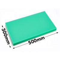 Разделочная доска - 30 x 50 см - зеленая