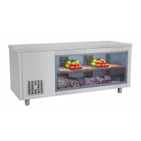 Холодильний стіл барний - 1,9 x 0,7 м