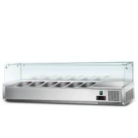 Холодильна вітрина - 1,5 x 0,43 м (6 x GN 1/3)