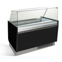 Вітрина для морозива - 1,25 x 0,92 м