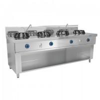 Плита WOG газова, 4 конфорки - 56 кВт