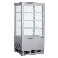 Вітрина панорамна холодильна - 68 л