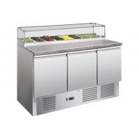 Саладетта / холодильний стіл для піци - 1,37 x 0,7 м