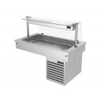 Встроенная холодильная ванна - 1,1 м