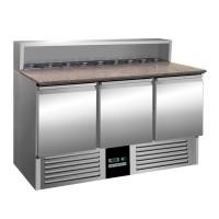 Саладетта / холодильный стол для пиццы - 1,37 x 0,7 м