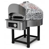 Газовая печь для пиццы с каменным подом
