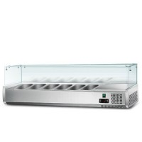 Холодильная витрина - 1,5 x 0,43 м (6 x GN 1/3)