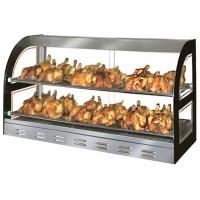 Витрина тепловая для куриц - 1,09 м