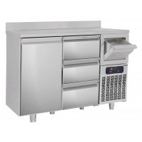 Холодильный стол барный - 1,6 x 0,6 м