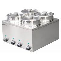 Мармит (котелки) ХотПот - 4 х 3,5 литров