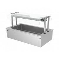 Встроенная ванна для льда - 1,5 м