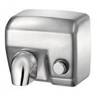 Сушка для рук с кнопкой - сталь