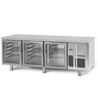 Холодильный стол для выпечки - 2,1 x 0,8 м