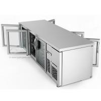 Холодильный стол для напитков - 2,2 x 0,8 м
