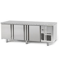 Морозильный стол для выпечки - 2,2 x 0,8м