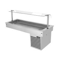 Встроенная холодильная ванна - 1,5 м