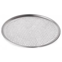 Диск для пиццы алюминиевый перфорированный - Ø 33 см