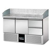 Холодильный стол для пиццы - 1,4 x 0,7 м