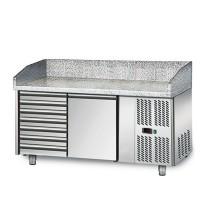 Холодильный стол для пиццы - 1,5 x 0,8 м