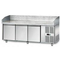 Холодильный стол для пиццы - 2,0 x 0,8 м