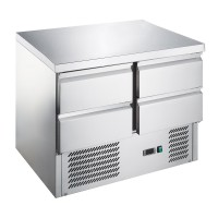 Холодильный стол - 0,9 x 0,7м