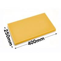 Разделочная доска - 25 x 40 см - желтая