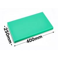Разделочная доска - 25 x 40 см - зеленая