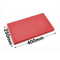 Разделочная доска - 25 x 40 см - красная