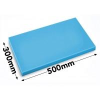 Разделочная доска - 30 x 50 см - синяя