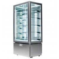 Витрина панорамная холодильно-морозильная - 490 л