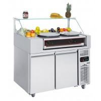 Холодильная рабочая станция - 1,21 x 0,7 м