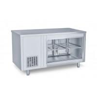 Холодильний стіл барний - 1,4 x 0,7 м