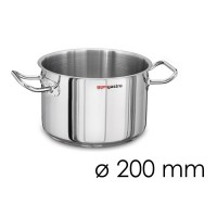 Каструля для м'яса - Ø 200 мм - висота 130 мм