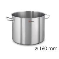 Супова каструля - Ø 160 мм - висота 160 мм
