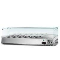 Холодильна вітрина - 1,2 x 0,43 м (6 x GN 1/4)