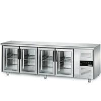 Холодильний стіл для напоїв - 2,2 x 0,7 м