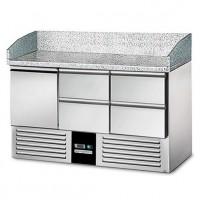 Холодильний стіл для піци - 1,4 x 0,7 м