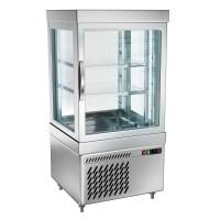 Вітрина панорамна холодильна - 230 л