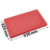 Обробна дошка - 53 x 32,5 см - червона