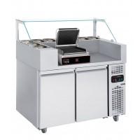 Холодильна робоча станція (гриль контактний) - 1,21 x 0,7 м